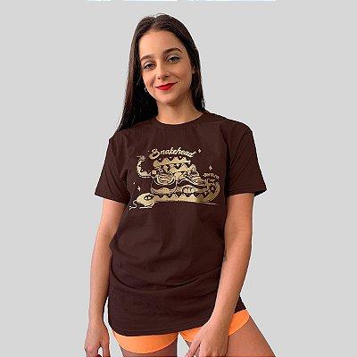 Camiseta Ventura Snakehead Marrom