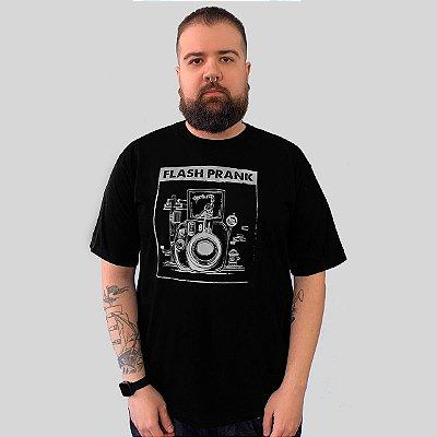 Camiseta Ventura Flash Prank Preto