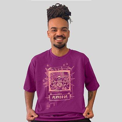 Camiseta Ventura Single Player Roxo