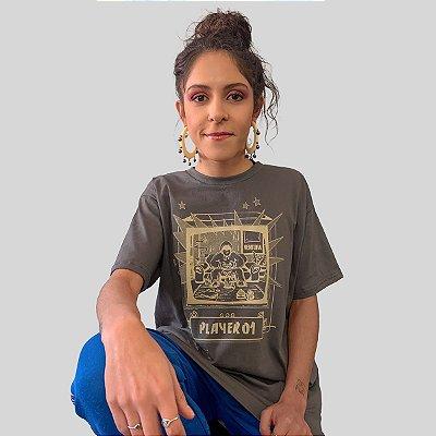 Camiseta Ventura Single Player Chumbo