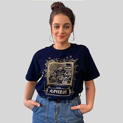 Camiseta Ventura Single Player Marinho