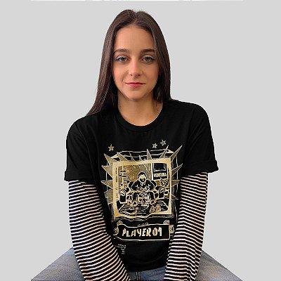 Camiseta Ventura Single Player Preto