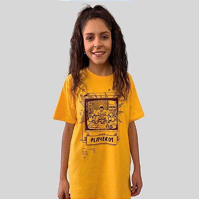 Camiseta Ventura Single Player Amarelo
