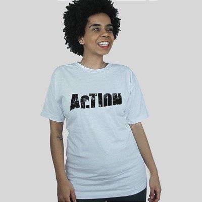 Camiseta Action Clothing Sign Branca