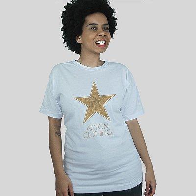 Camiseta Action Clothing Hollywood Branca