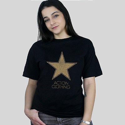 Camiseta Action Clothing Hollywood Preta
