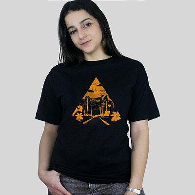 Camiseta Action Clothing Sunset Blvd Preta