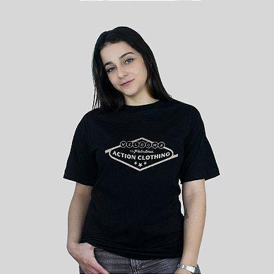 Camiseta Action Clothing Vegas Preta