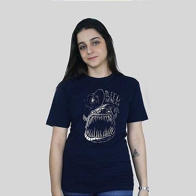 Camiseta Bleed Abissal Azul Marinho
