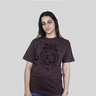 Camiseta Bleed Grizzly Marrom