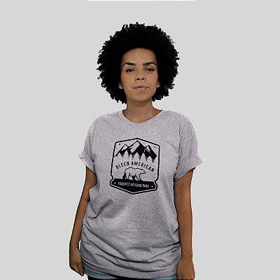 Camiseta Bleed Yosemite Cinza Mescla