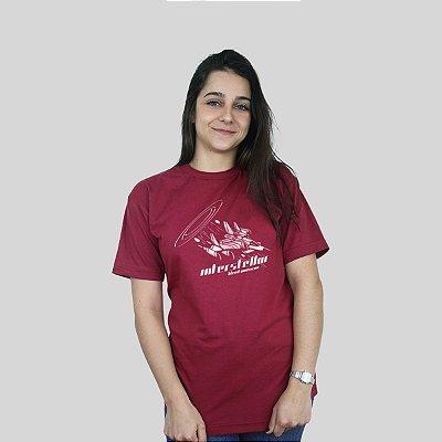 Camiseta Bleed Interstellar Vinho