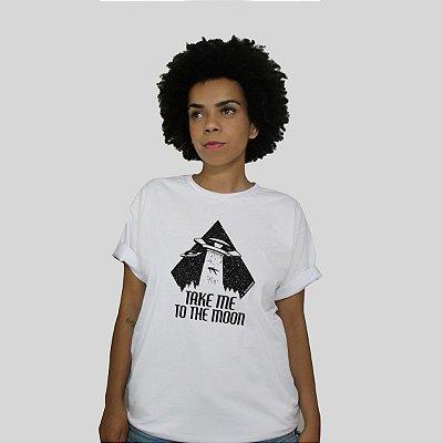 Camiseta Bleed To The Moon Branco