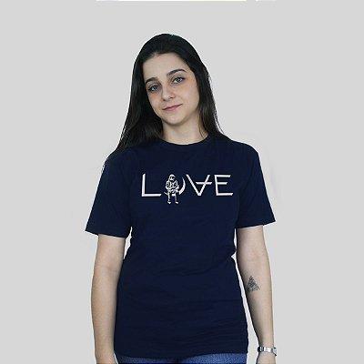 Camiseta 182Life Love Marinho
