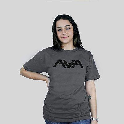 Camiseta 182Life AVA Logo Chumbo