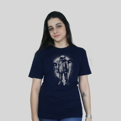 Camiseta 182Life The Astronaut Marinho