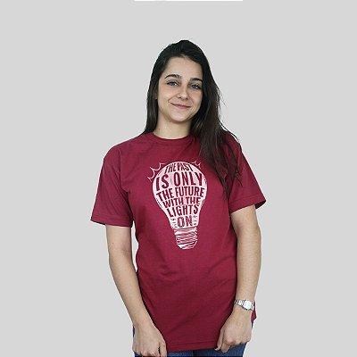 Camiseta 182Life Baby Come On Vinho