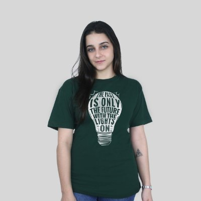 Camiseta 182Life Baby Come On Musgo
