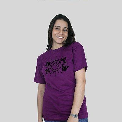Camiseta 182Life Not Now Roxa
