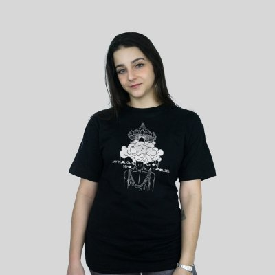 Camiseta 182Life Carousel Preta