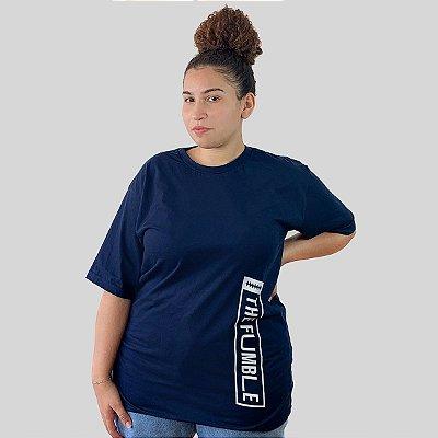 Camiseta The Fumble Vertical Marinho