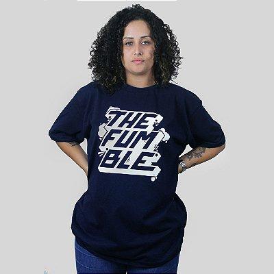 Camiseta The Fumble Sticker Marinho