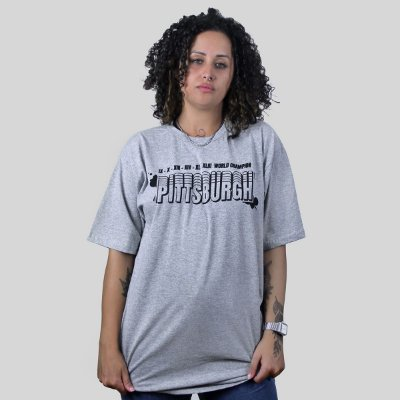 Camiseta The Fumble Champs Pittsburgh Mescla