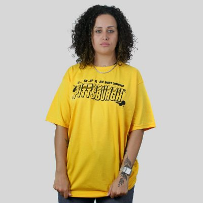 Camiseta The Fumble Champs Pittsburgh Amarelo