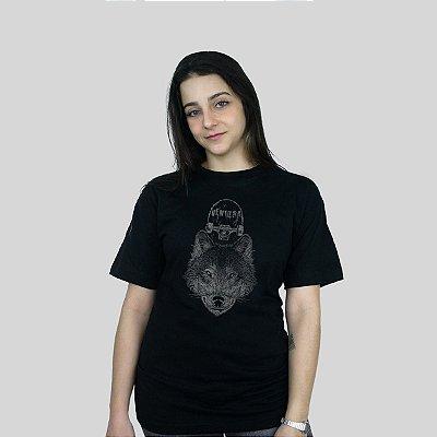 Camiseta Ventura Wolfskater Preto