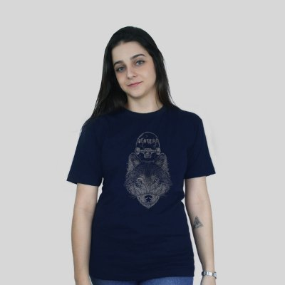 Camiseta Ventura Wolfskater Azul