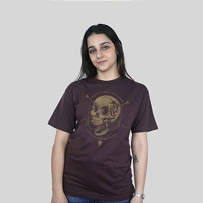 Camiseta Ventura Open Your Mind Marrom