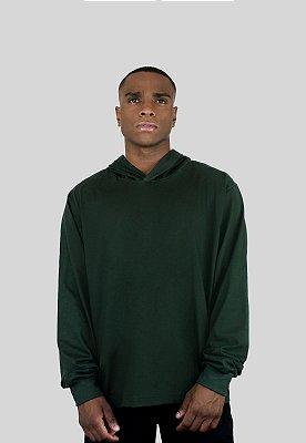 Blusa Action Clothing Básica Verde Musgo