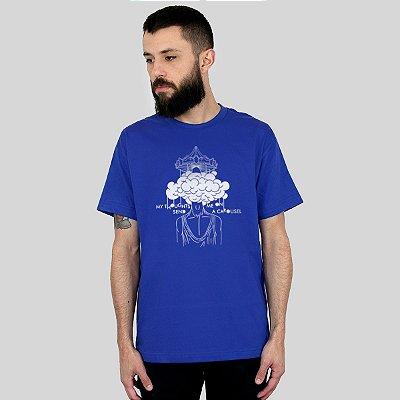 Camiseta Action Clothing Carousel Royal