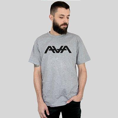Camiseta AVA Logo Cinza Mescla