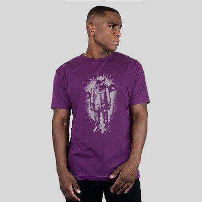 Camiseta AVA The Astronaut Roxo