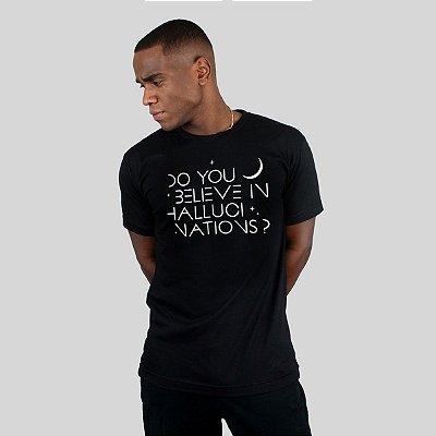 Camiseta Action Clothing Hallucinations Preta