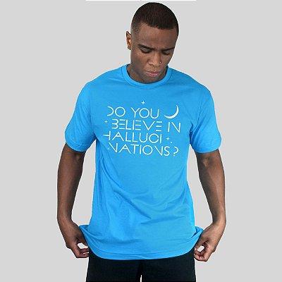 Camiseta AVA Hallucinations Turquesa