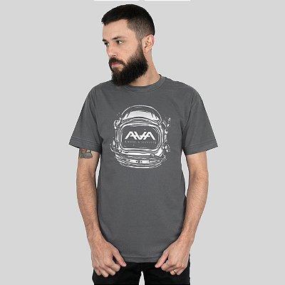 Camiseta Action Clothing Space Head Chumbo