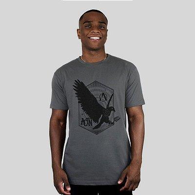 Camiseta Action Clothing Eagle Chumbo