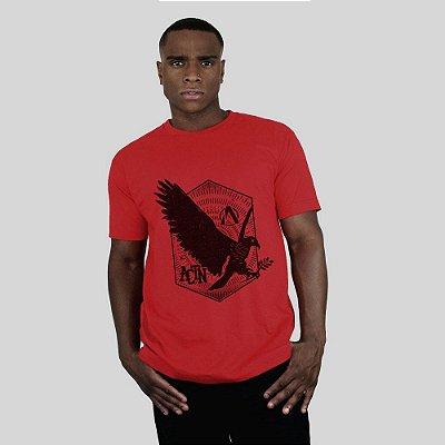 Camiseta Action Clothing Eagle Vermelha