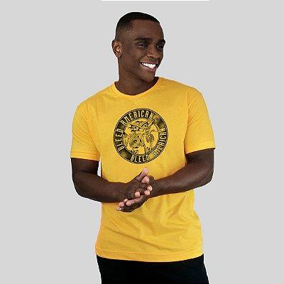 Camiseta Bleed Los Borachos Amarela