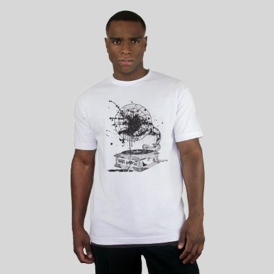 Camiseta Bleed Vynil Branca