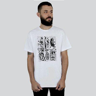 Camiseta Ventura Junkie Branca