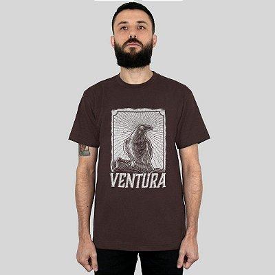 Camiseta Ventura Crow Marrom