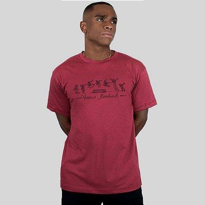 Camiseta Ventura Perfect Trick Vinho