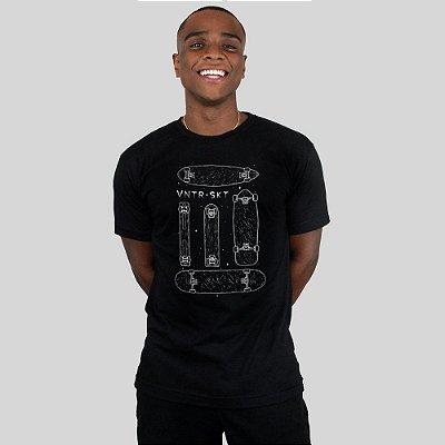 Camiseta Ventura Shapes Preta