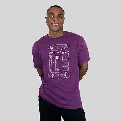 Camiseta Ventura Shapes Roxa