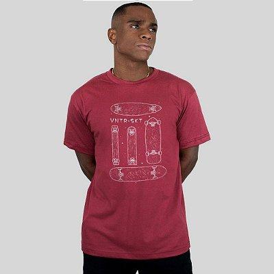 Camiseta Ventura Shapes Vinho