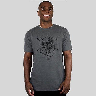 Camiseta Ventura Open Your Mind Chumbo