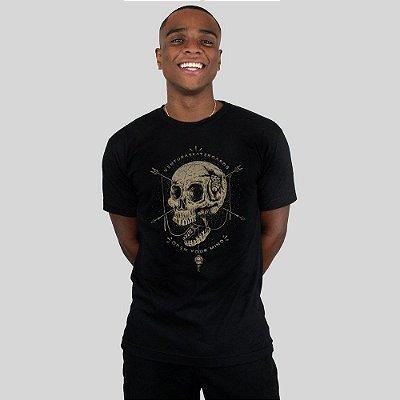 Camiseta Ventura Open Your Mind Preta